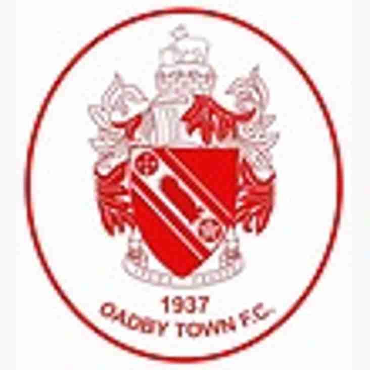 Up next: Oadby Town Away