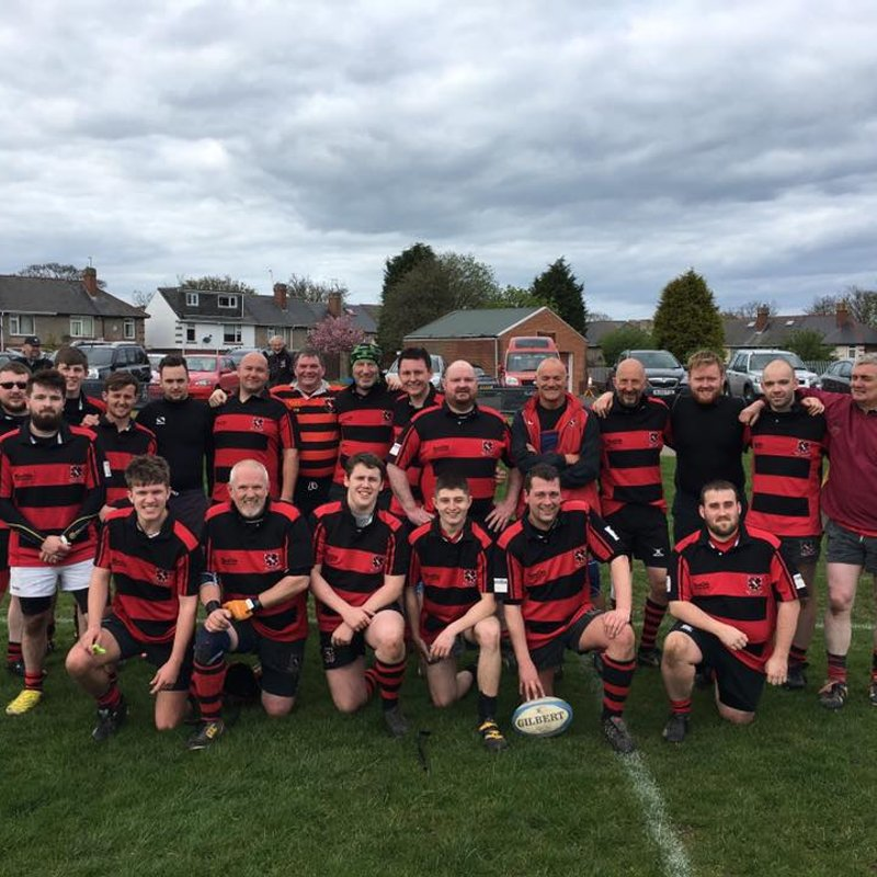 Deputies lose to Whitley Bay Rockcliff Rangers (3rd XV) 31 - 38