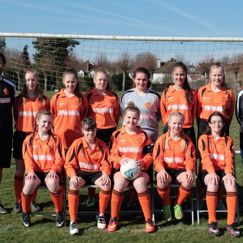 Girls U15 Wildcats lose to Watford Ladies Harts 7 - 0