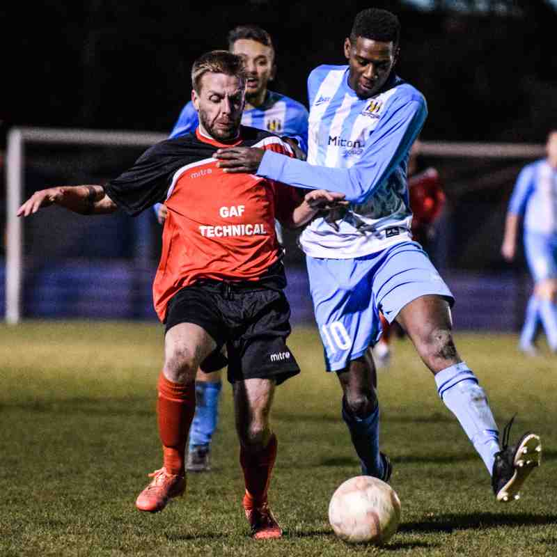 Eccleshill United 4 - 0 Ollerton Town