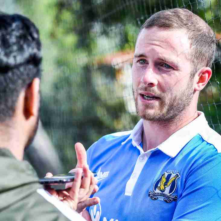 Post-match Interview with Andy Cooper (Eccleshill United 0-3 Knaresborough Town)