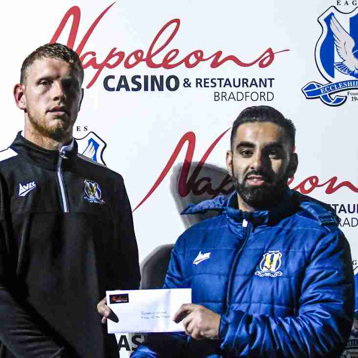 Post-match Interview with Christopher Lever (Eccleshill United 2-2 Staveley MW)