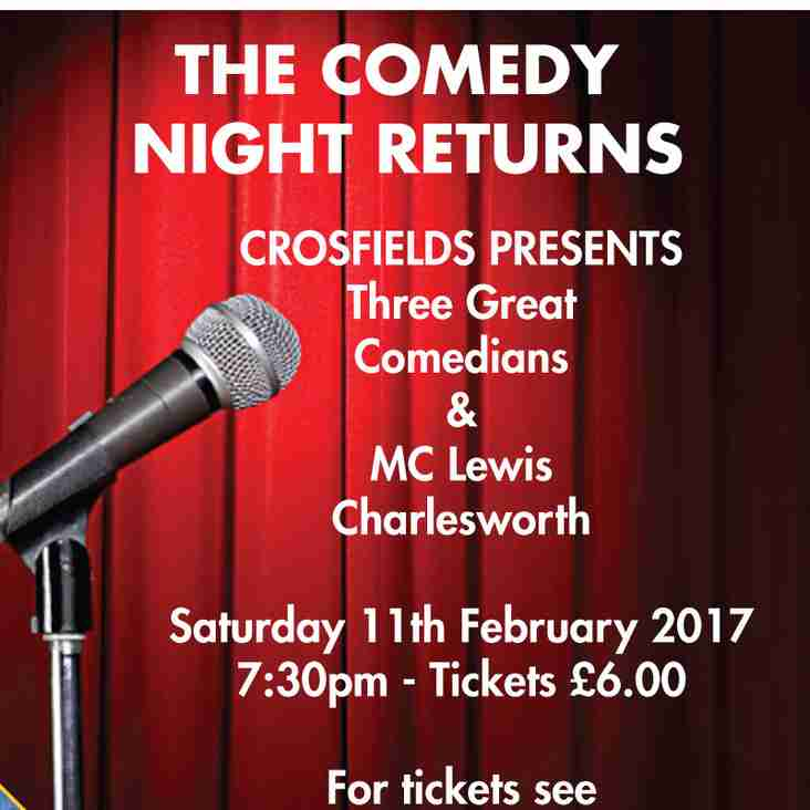 THE COMEDY  NIGHT RETURNS