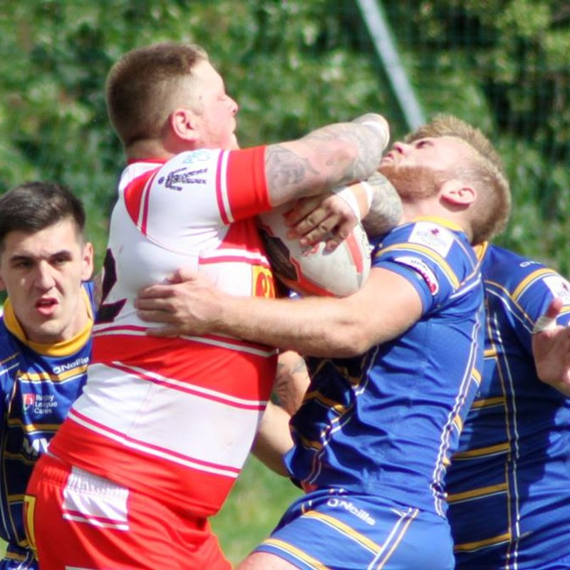 Young Crosfields side goes down to more experienced East Leeds outfit.