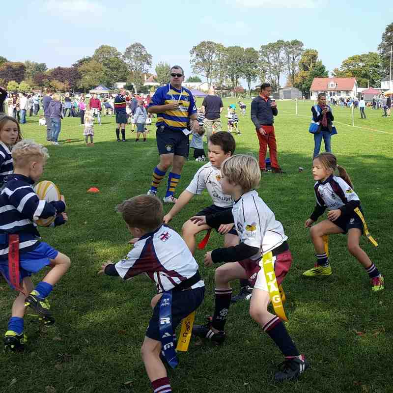 Sidcup U7s at the Foxbury Festival (2015)