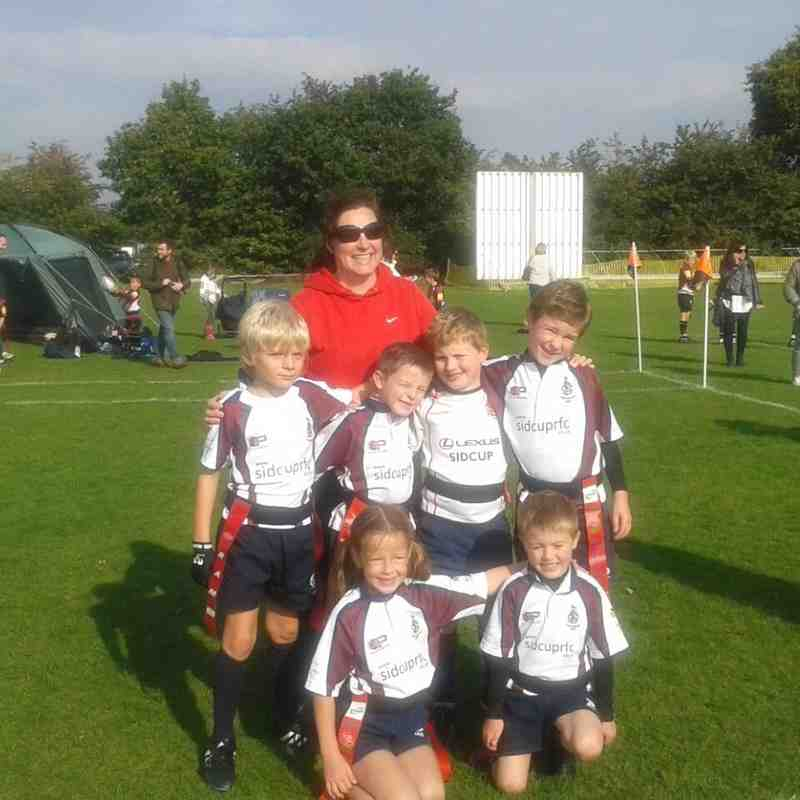 U7s at the Bromley Festival (2015)