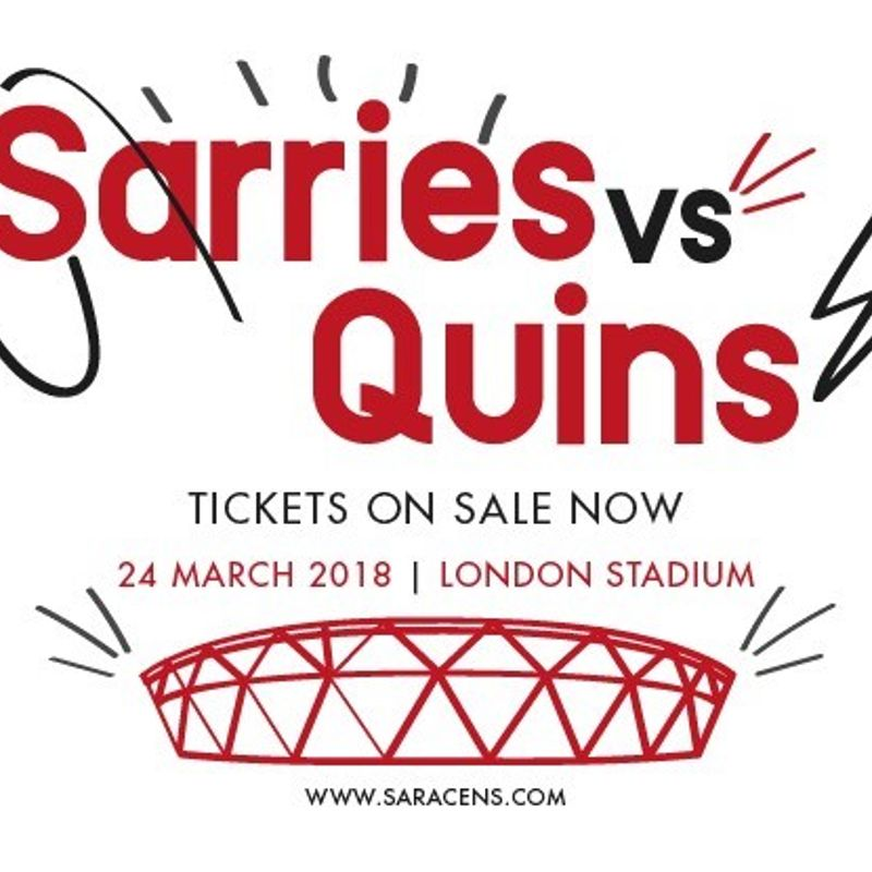 Sarries v Quins at the London Stadium