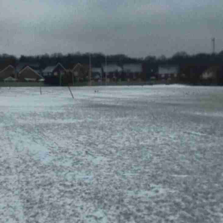 All matches and training cancelled 3/4 March