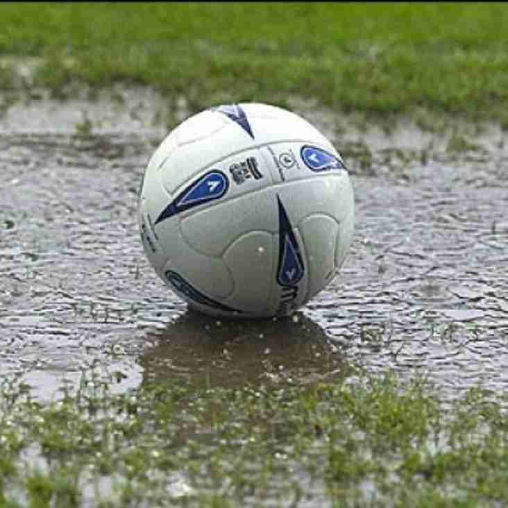 U12 and U13 Games to be Re-Scheduled
