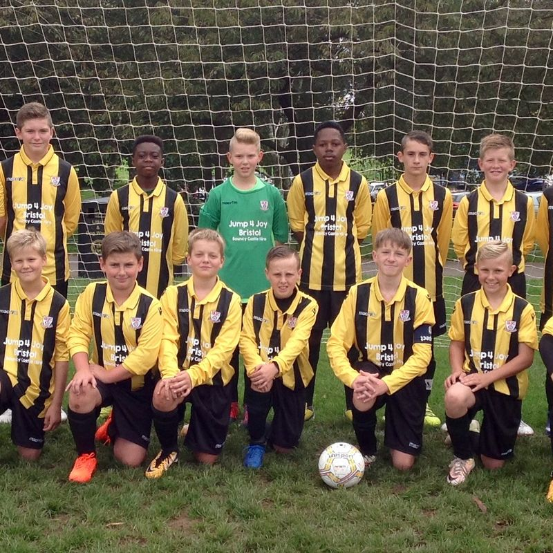 U13's knocked out of GFA Cup by superb Div 1 Leaders Bristol City J.S.