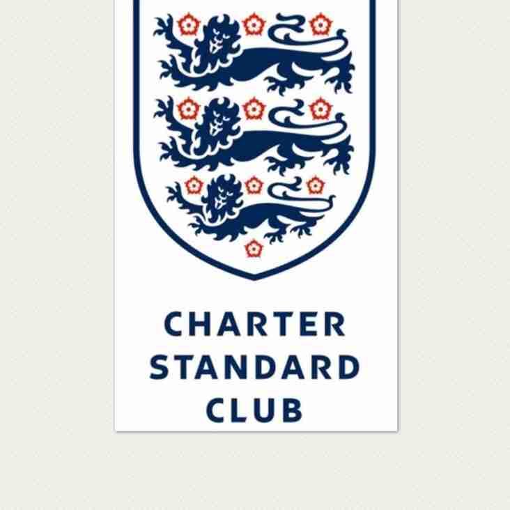 Proud Bradley Stoke United moment as Charter Standard Status Renewed