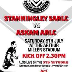 STANNINGLEY VS ASKAM LIVE!!
