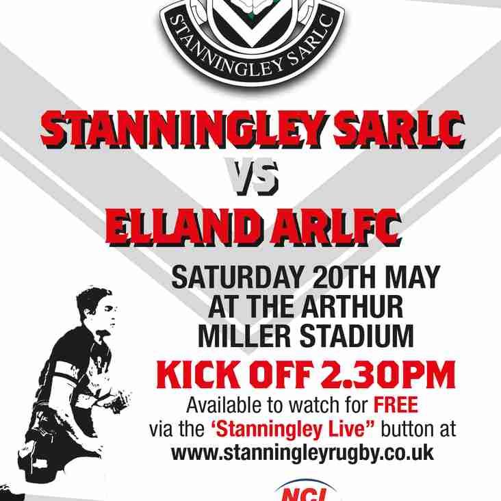 Stanningley Vs Elland LIVE!!