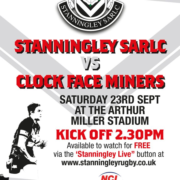 Stanningley Vs. Clock Face Miners LIVE<