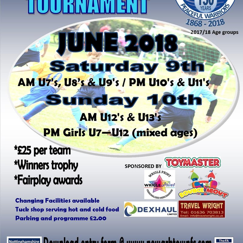 Newark Town FC Summer Football Tournament 2018
