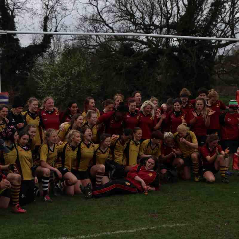 Hampstead Ladies 1st XV v. OAs 19.3.17