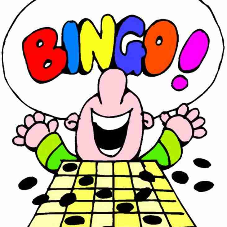 Our Next Prize Bingo is on: Tuesday 22nd May