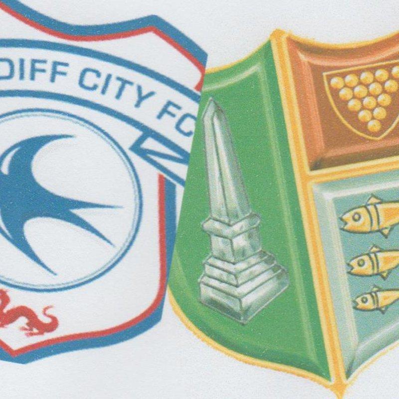Bodmin Town v  Cardiff City