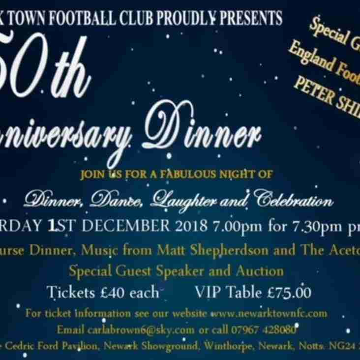 150th Anniversary Christmas Event with Peter Shilton