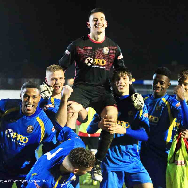 Radcliffe Borough v West Didsbury and Chorlton (Lancashire Cup Qtr -Final)