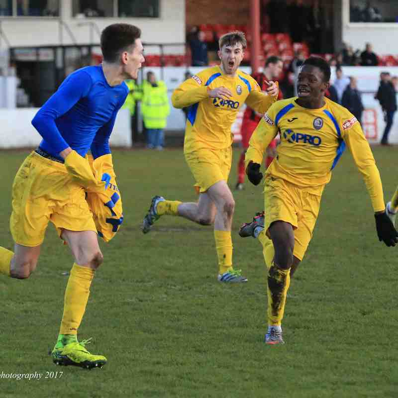 Goole AFC v Radcliffe Borough (4/2/17)