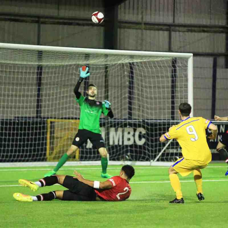 Hyde United v Radcliffe FC (5/9/17)