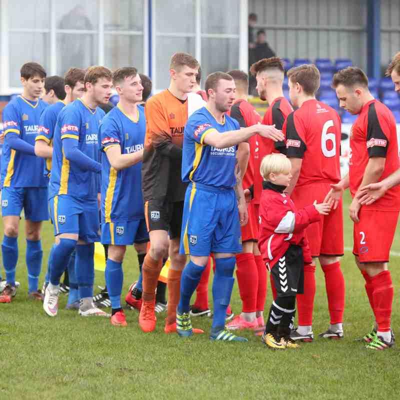Radcliffe FC v Clitheroe (2/12/17)