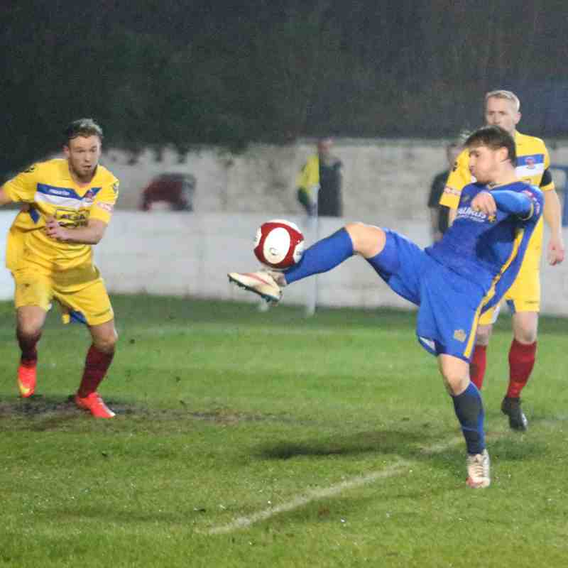 Radcliffe FC v Droylsden (23/12/17)