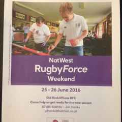 Old Reds/NatWest RugbyForce Weekend