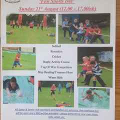 Old Reds - 'Fun Sports Day' - Sunday 21st August