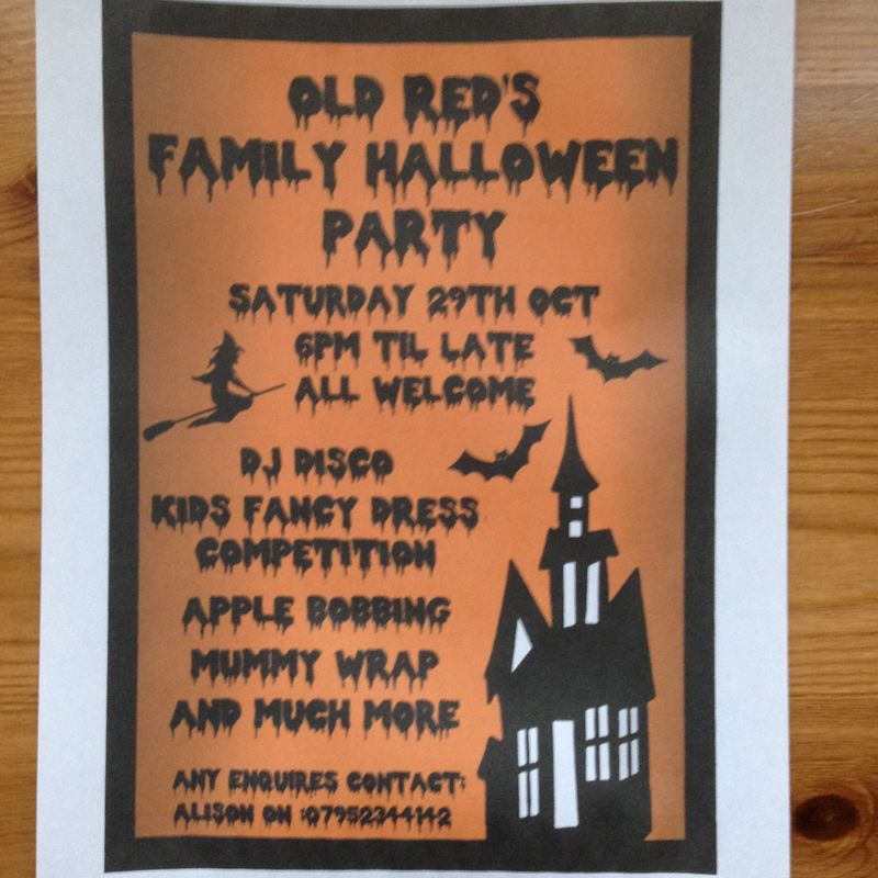 Reds Halloween Party