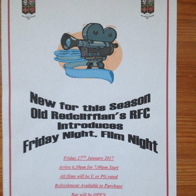 Old Reds - Friday Night, Film Night