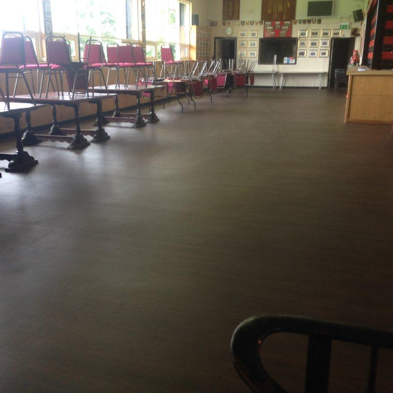Clubhouse floor refurbishment