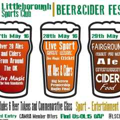 ANNUAL BEER AND CIDER FESTIVAL