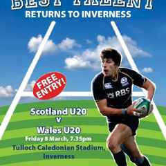 Scotland v Wales U20's