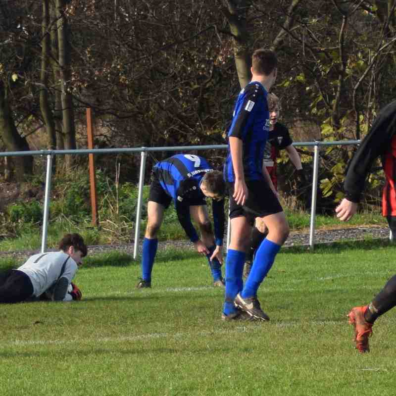 Clee Town U18s v Louth Old Boys