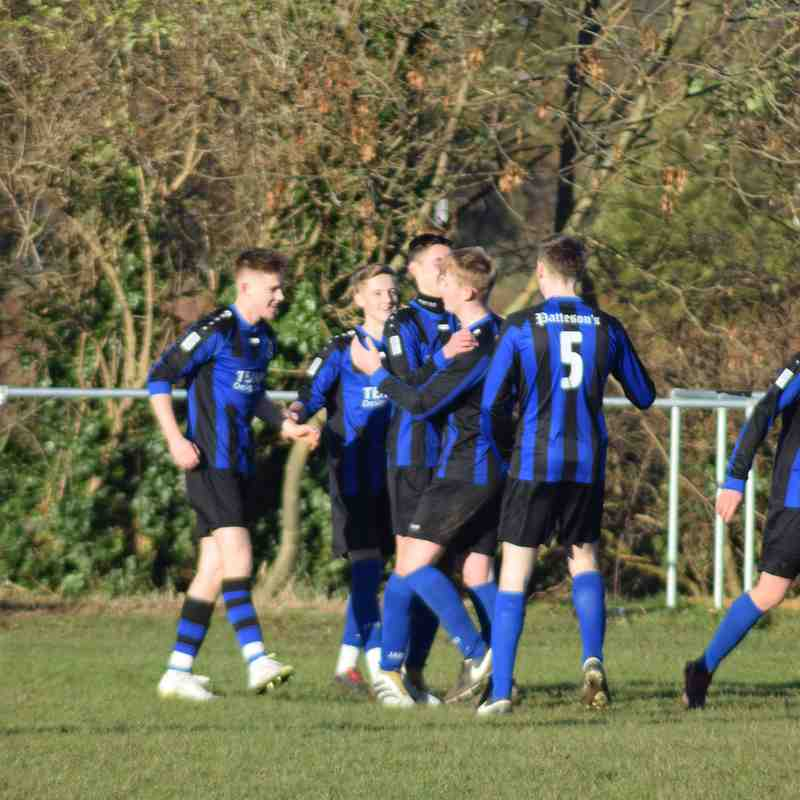 Clee Town U18s v Bottesford QF Cup Game