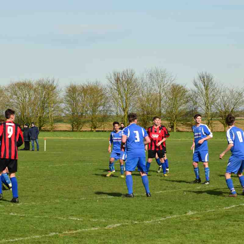 Sibsey Youth v Clee Town U18s (sun) cup semi final