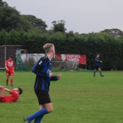 Clee Town U18s (sun) v Grimsby Borough Warrior's
