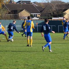 Clee Town U18s away to Bottesford