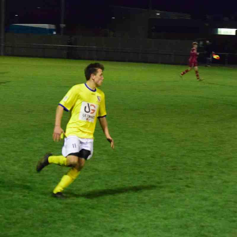 Humbertherm v Clee Town U21s