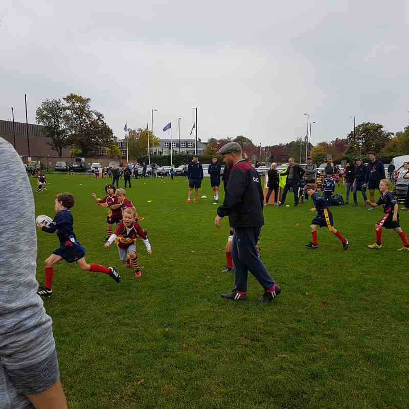 U7s London Scottish festival