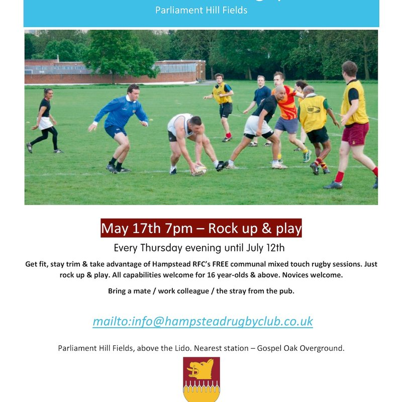 Communal Mixed Touch-Rugby