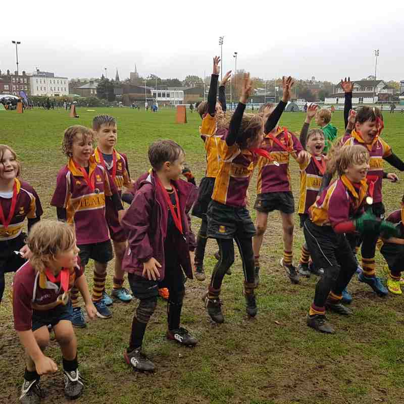 U9s London Scottish festival Oct 18