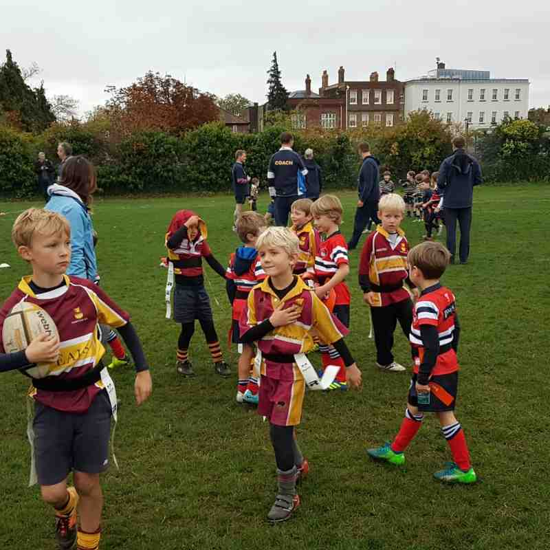 U7s London Scottish festival Oct 18