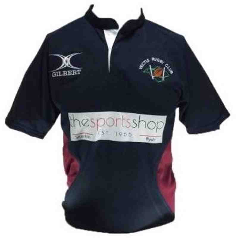 OFFICAL VECTIS RUGBY CLUB TRAINING SHIRT SNR