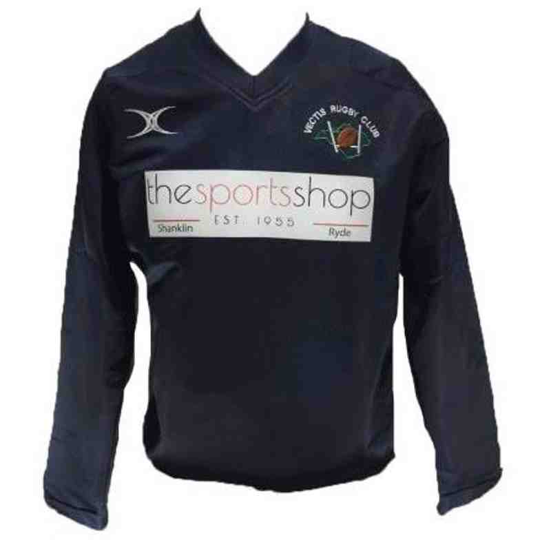 OFFICAL VECTIS RUGBY CLUB WARM UP JACKET JNR