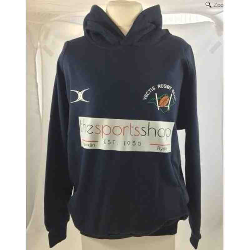 OFFICAL VECTIS RUGBY CLUB HOODY SNR