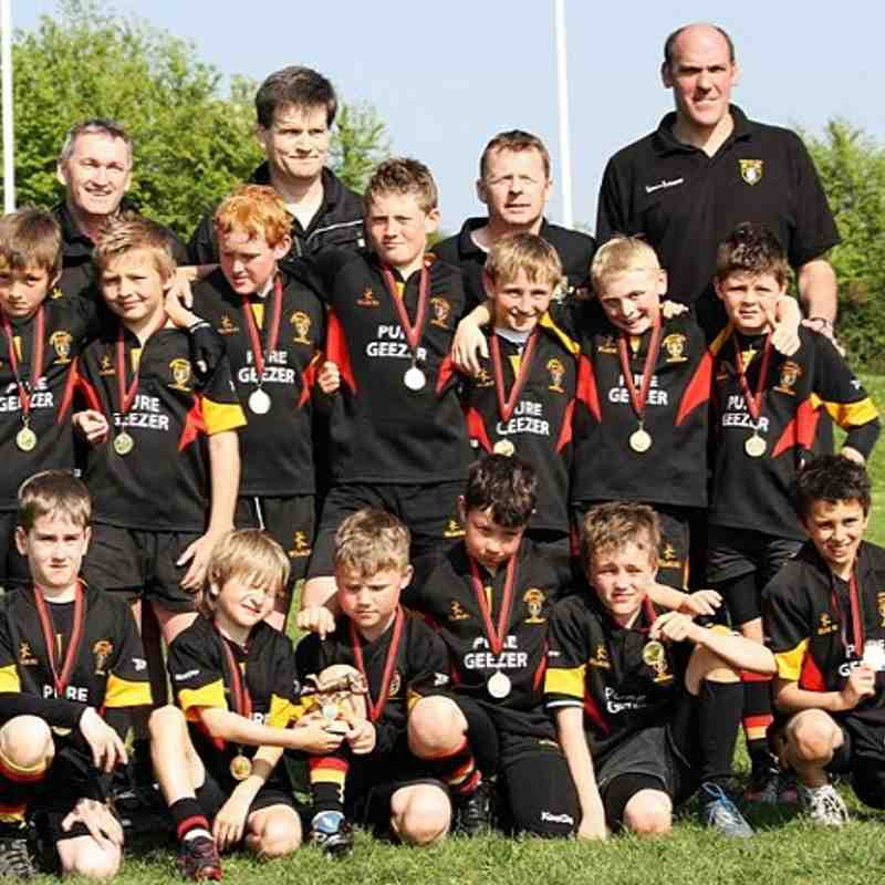 U10's Winners of the Devon Festival Shield 2011