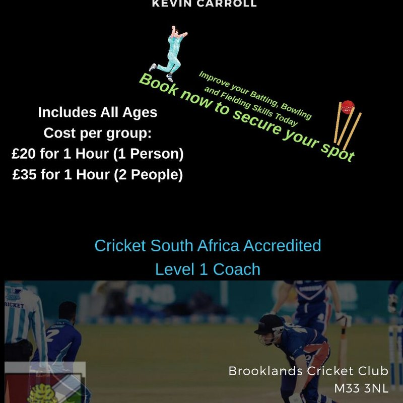 1-to-1 coaching with Kev - Brooklands' overseas